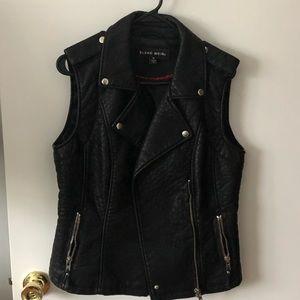 Blanc Noir Leather Vest